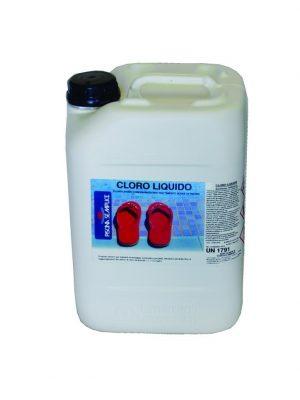 cloro liquido per piscina