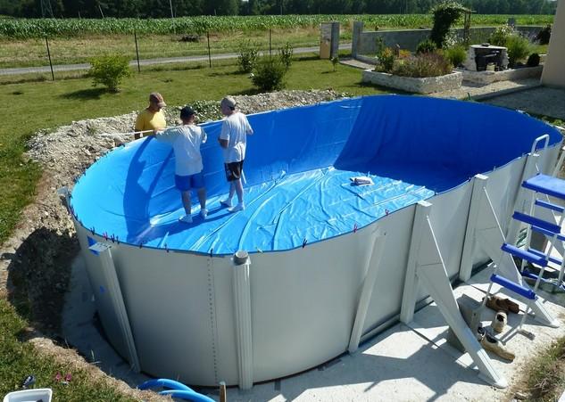 montaggio piscina atlantis