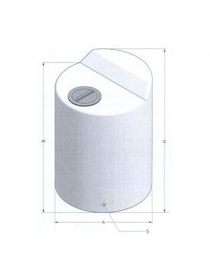 Serbatoio 100 litri