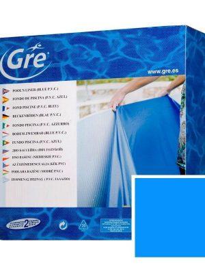 Liner azzurro 40/100 per piscina fuori terra ovale