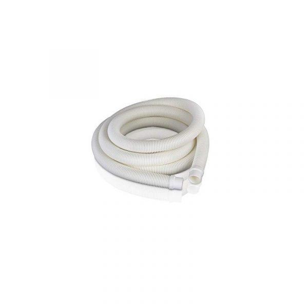 Tubo bianco per filtri 4m con 2 terminali Ø 38mm