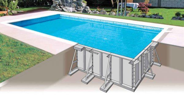 sezione piscina