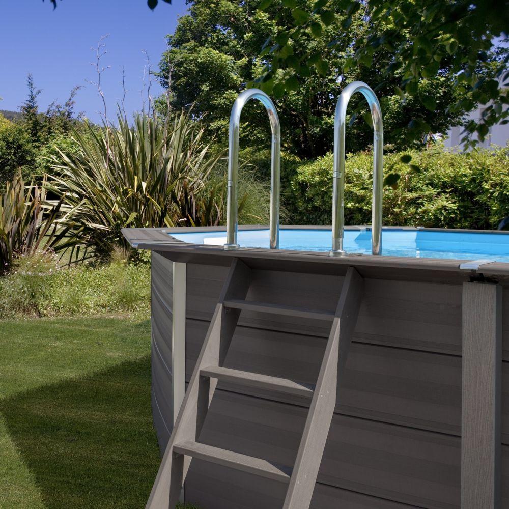 scaletta piscina composito
