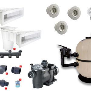 kit impianto filtrazione da 14 mc/h